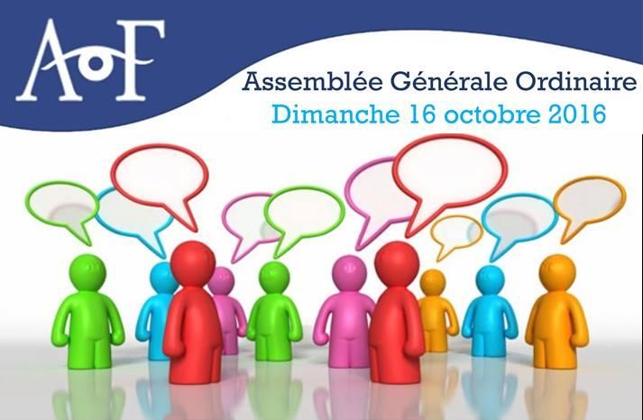 Assemblée Générale Ordinaire annuelle de l'Association des Optométriste de France