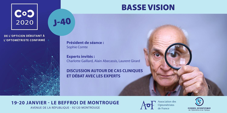 C.O.C.2020 / J-40 BASSE VISION