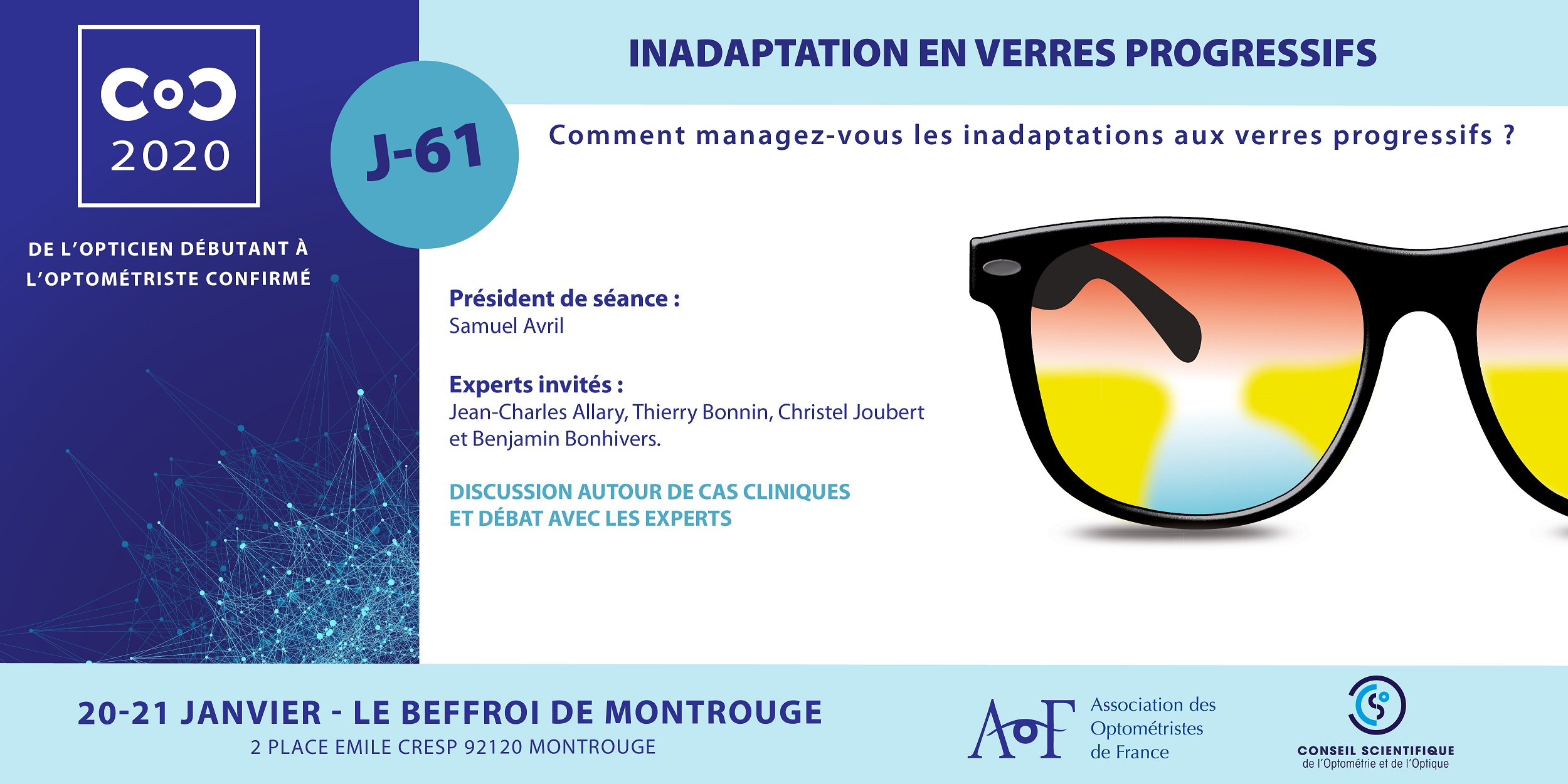 C.O.C.2020 / J-61 Inadaptation en verres progressifs
