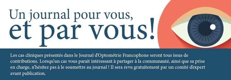 JOURNAL D'OPTOMÉTRIE FRANCOPHONE