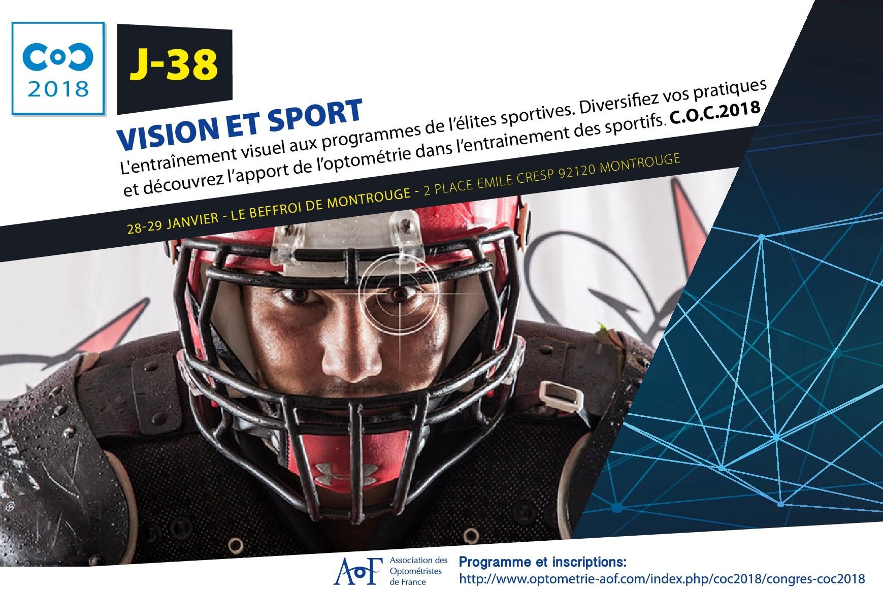 C.O.C 2018 J-38 : Vision et sport
