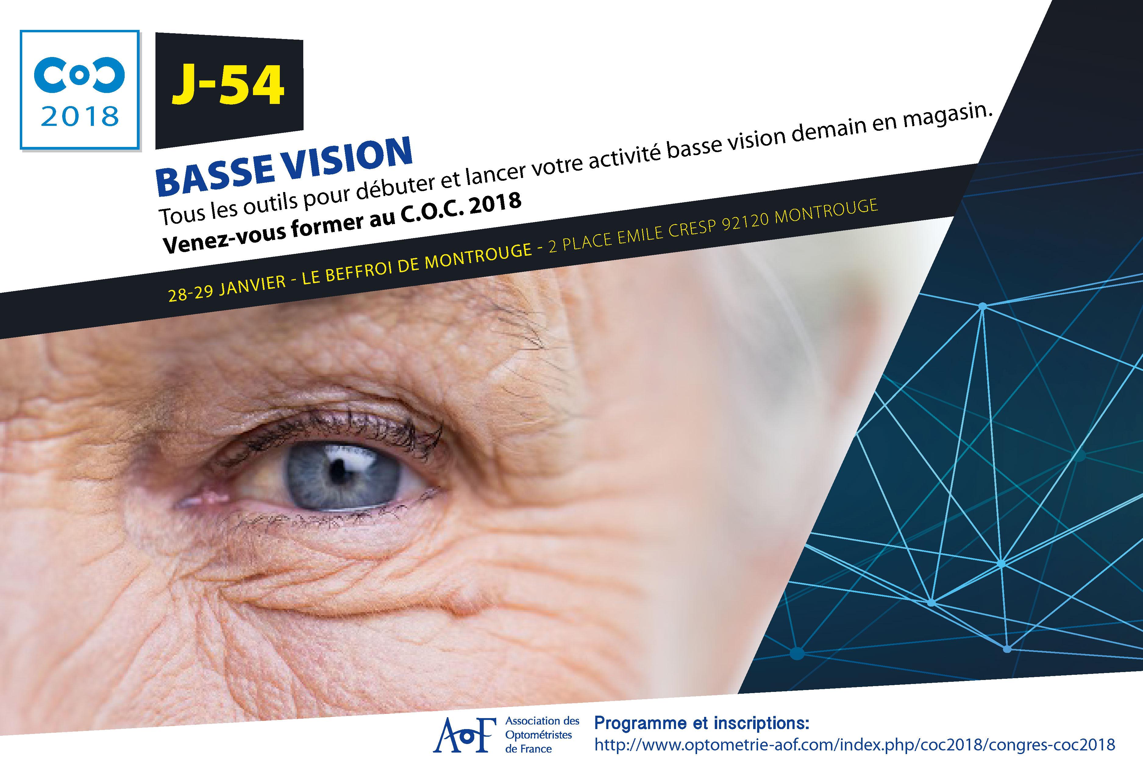 C.O.C 2018 J-54 : BASSE VISION