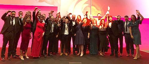 L'équipe CooperVision MiSight 1 Day récompensée par le BCLA Industry Award 2019